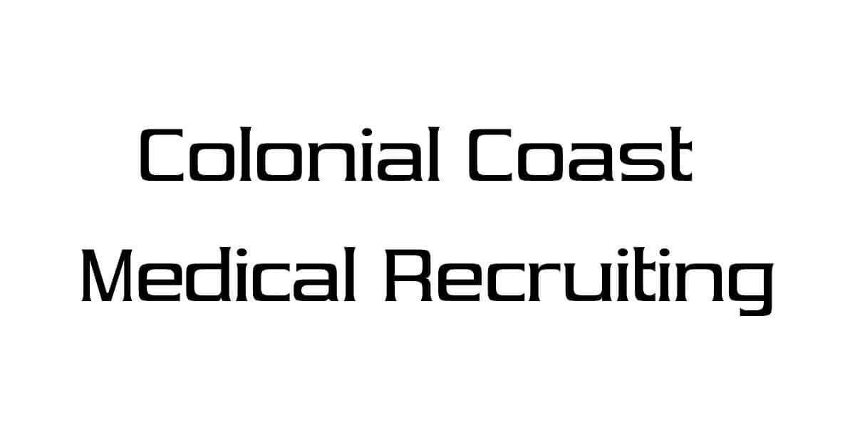 Physician Assistant jobs at Colonial Coast Medical Recruiting